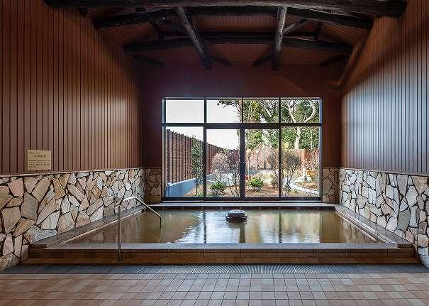 杉戸温泉「雅楽の湯」の内湯の写真