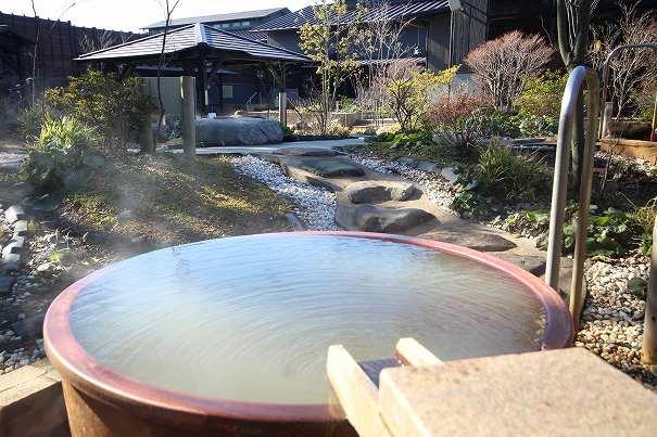 杉戸温泉「雅楽の湯」の源泉つぼ湯の写真