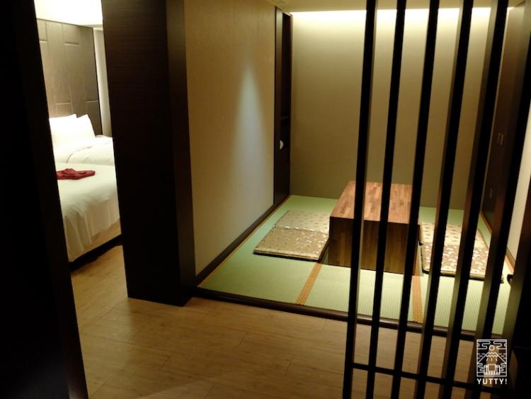 台湾北投温泉の北投天玥泉會館の客室の写真