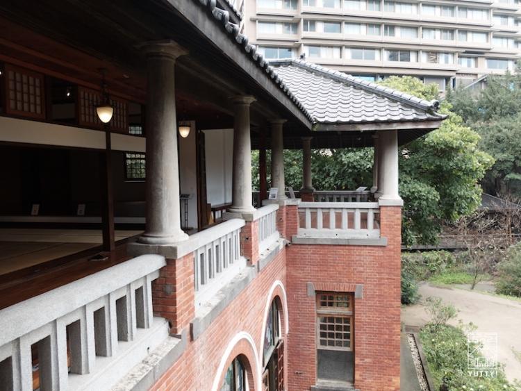 台湾北投温泉の北投温泉博物館の外観の写真