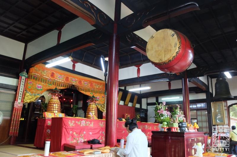 台湾北投温泉の北投普済寺(旧・鐵真院)の写真