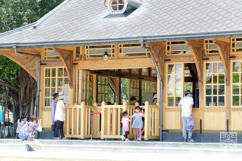 旧新北投温泉駅の外観の写真
