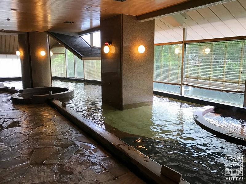 北投日勝生加賀屋の大浴場の写真
