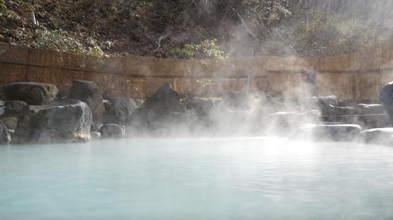蔵王大露天風呂の露天風呂の写真