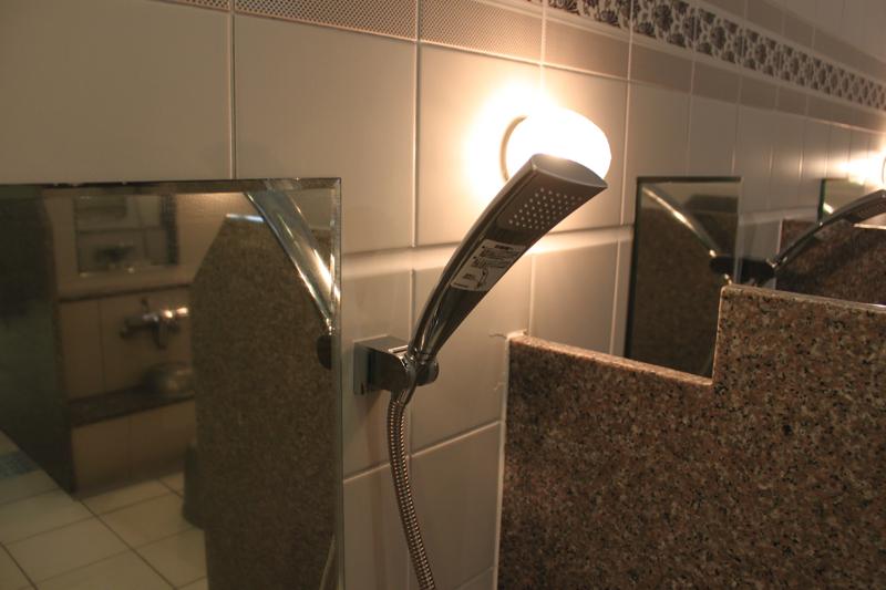 南青山 清水湯の高級シャワーヘッドの写真