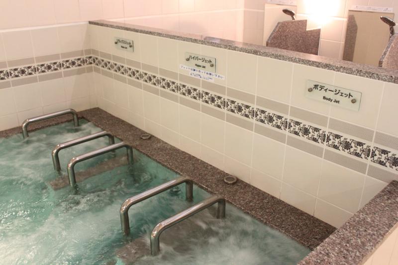 南青山 清水湯のジェットバスの写真
