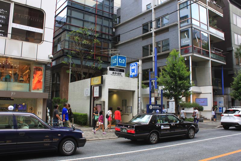 南青山 清水湯へのアクセスの写真