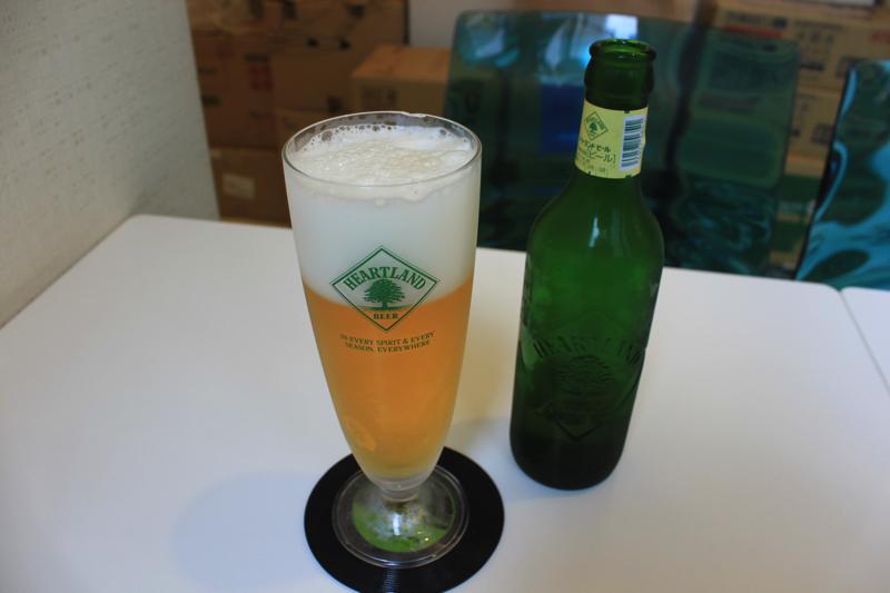 南青山 清水湯のハートランドビールの写真