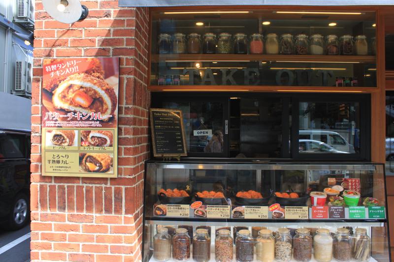 天馬 青山店のテイクアウト窓口の写真