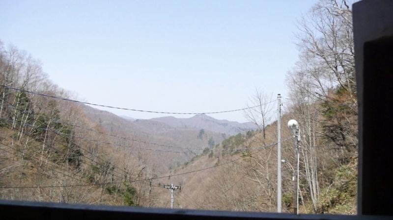新高湯温泉の吾妻屋の周りの景色の写真