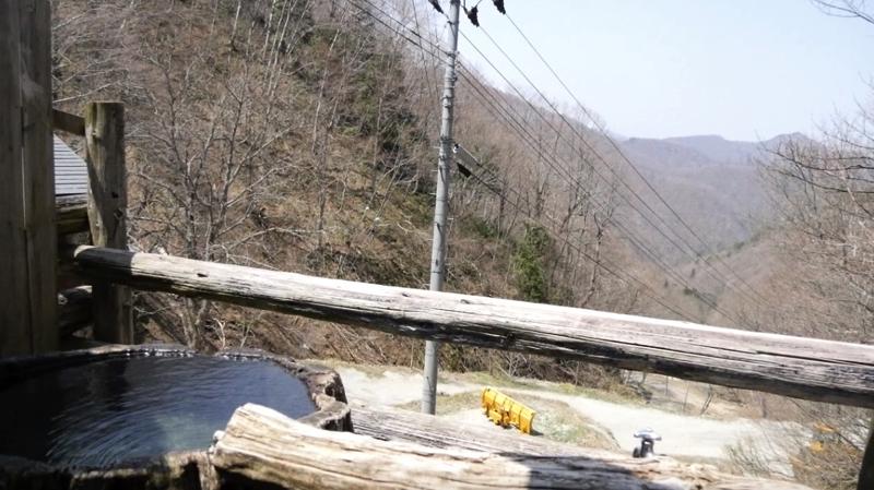 新高湯温泉の吾妻屋の根っこ風呂の写真
