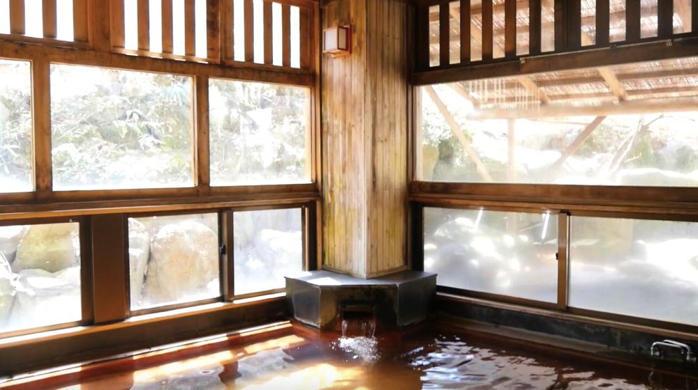 蔵王温泉 松金屋アネックスの大浴場の写真