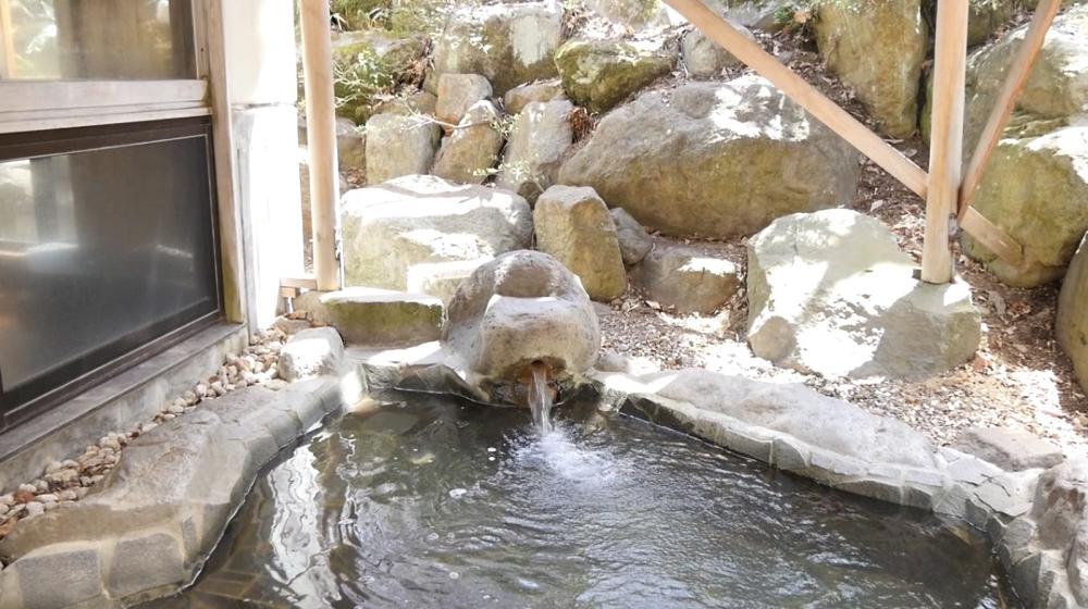 蔵王温泉 松金屋アネックスの露天風呂の写真