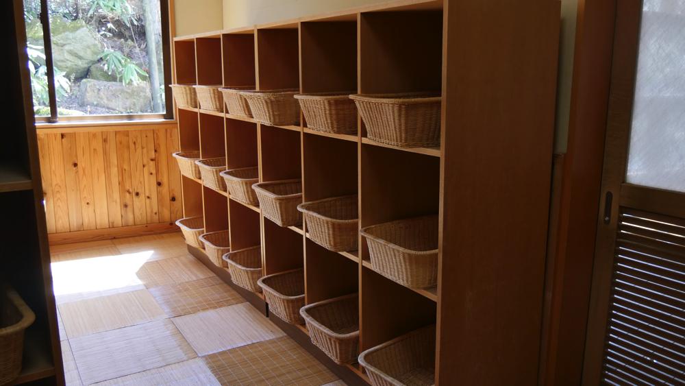 蔵王温泉 松金屋アネックスの脱衣所の写真