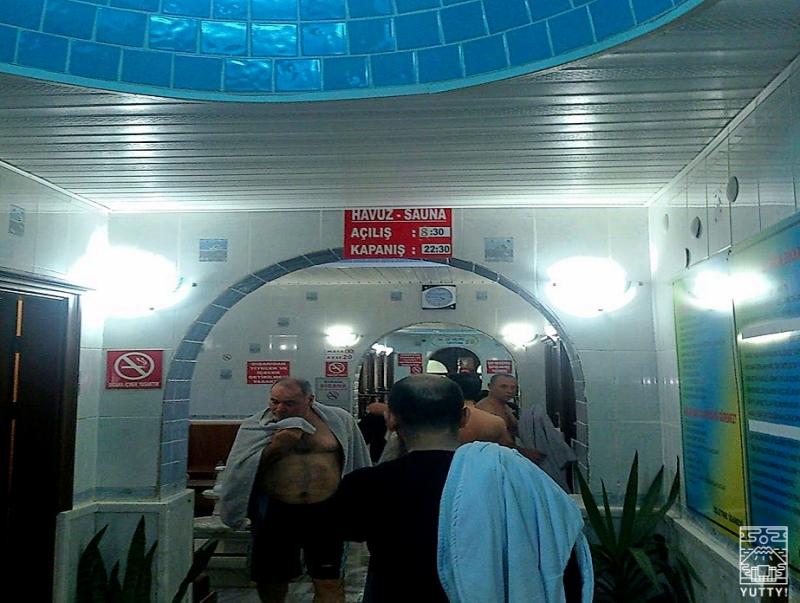 ヤロワ温泉の脱衣所の写真
