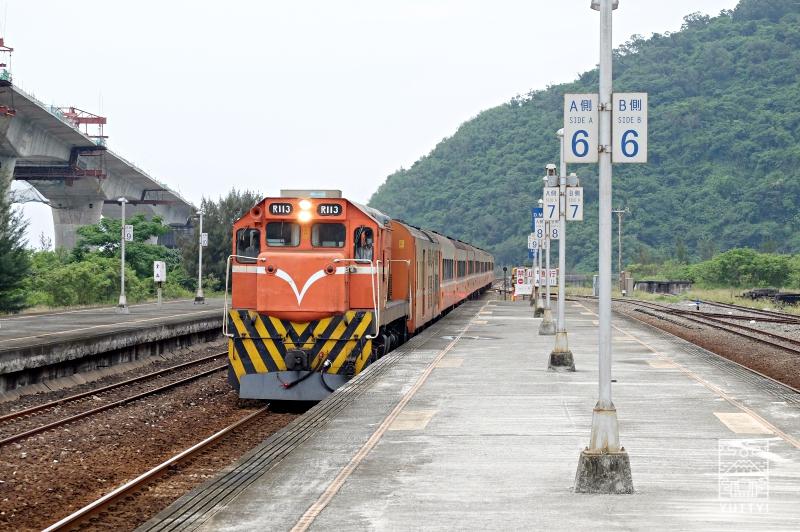 台鉄急行列車の写真