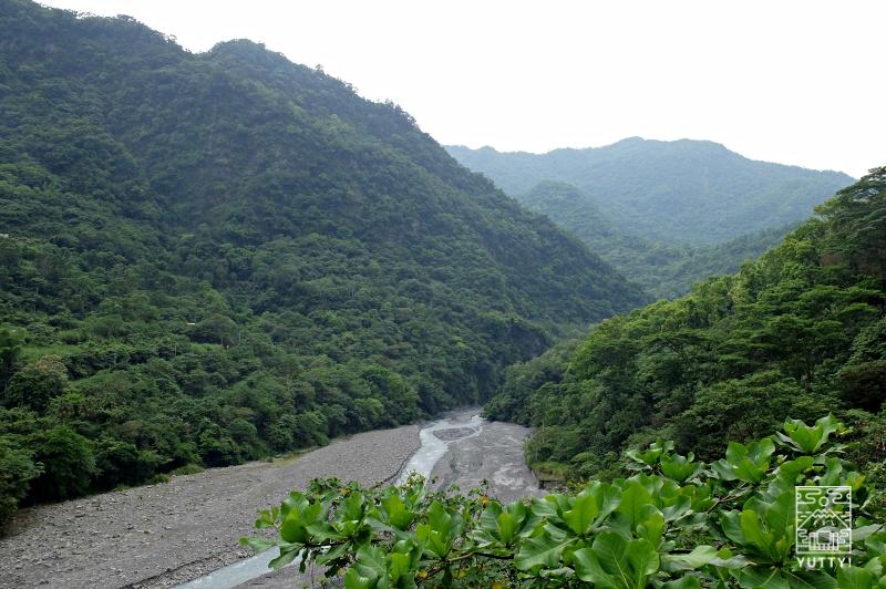 知本森林文化園区の展望台から見える景色の写真