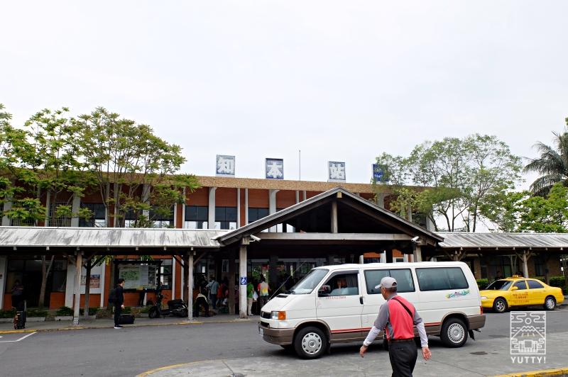 知本駅の外観の写真