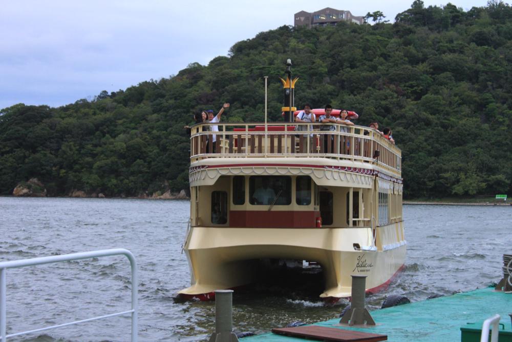 浜名湖遊覧船の写真