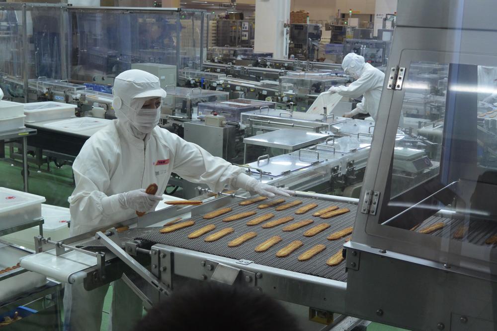 うなぎパイ工場の写真