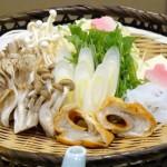 蔵王温泉の深山荘高見屋の料理(食材)の写真
