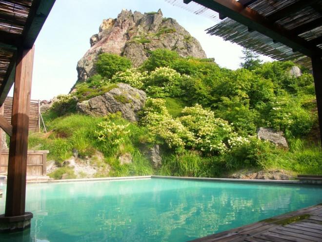 岩手・須川高原温泉の温泉の写真