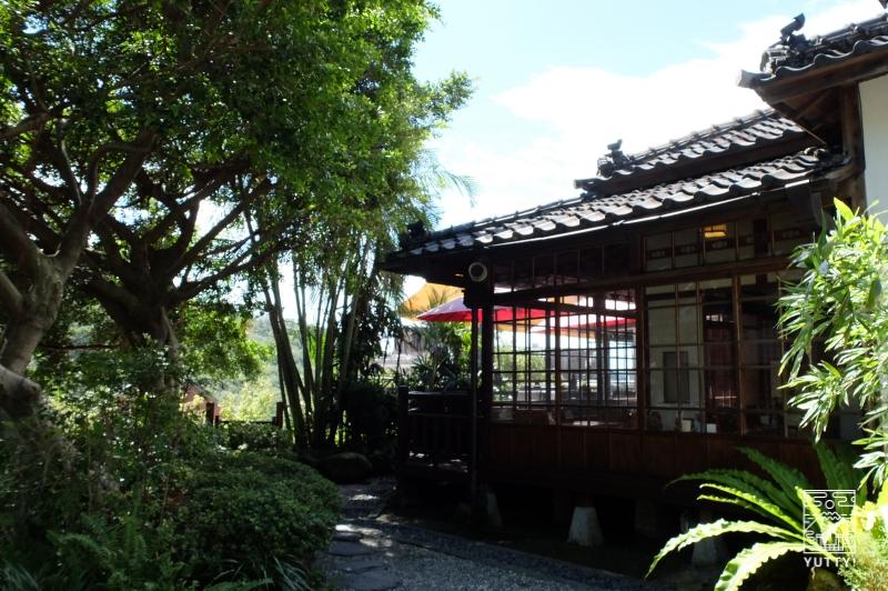 台湾北投温泉の北投文物館の外観の写真