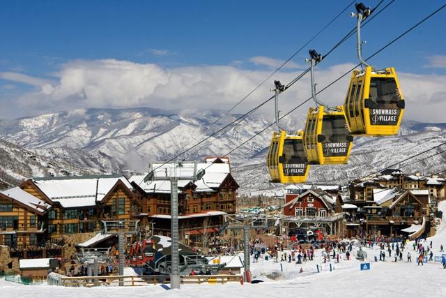 Glenwood springsのスキー場の写真