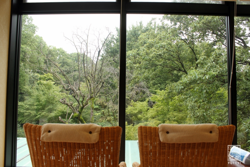 豊島園 庭の湯のリラックスチェアスペースの写真
