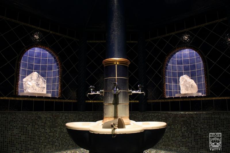 豊島園 庭の湯のテルマリウムサウナの写真