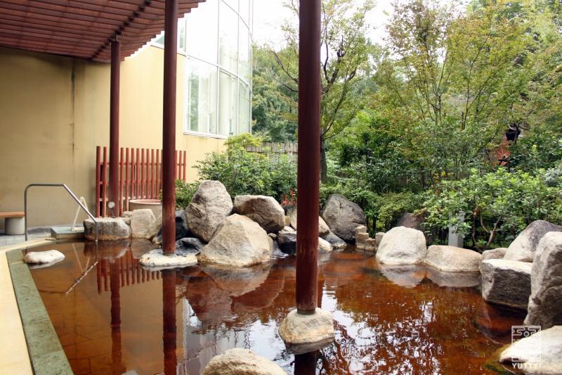 豊島園 庭の湯の露天風呂の写真