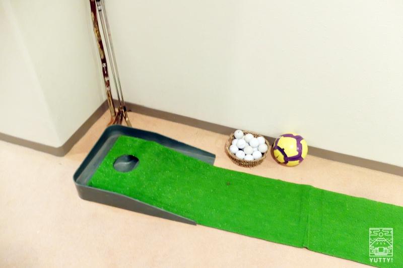 梅ヶ島温泉【湯の宿いちかわ】のパターゴルフの写真