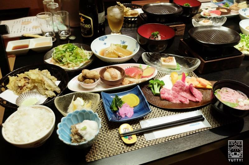 梅ヶ島温泉【湯の宿いちかわ】の手料理の写真