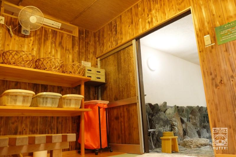 コンヤ温泉【大野木荘】の脱衣所の写真