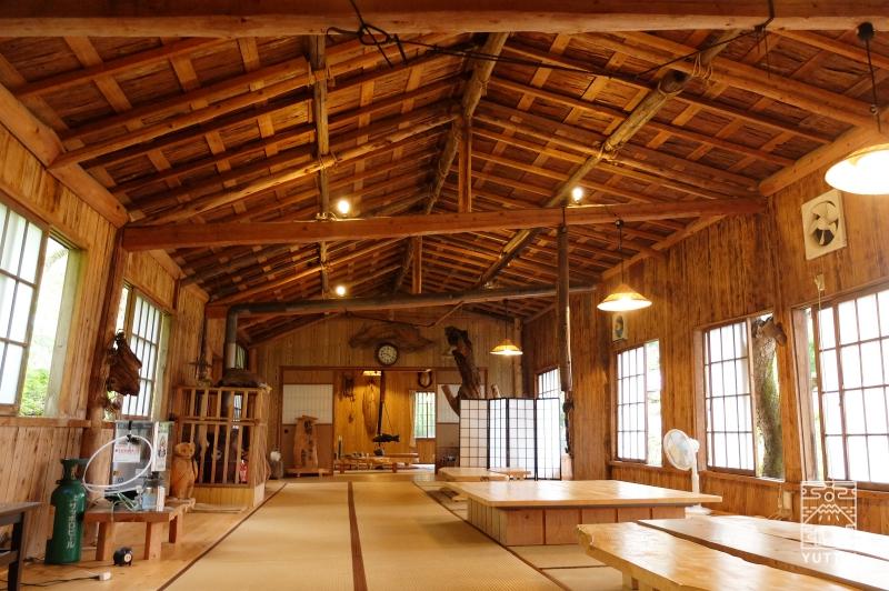 コンヤ温泉【大野木荘】のバーベキュールームの写真