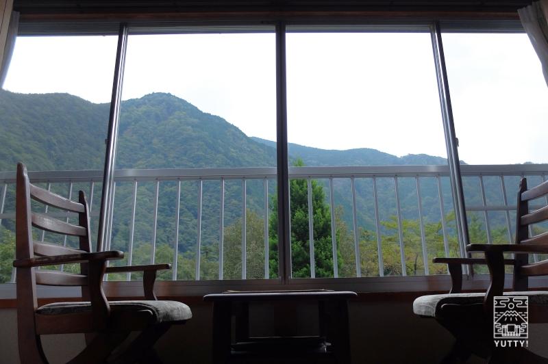コンヤ温泉【大野木荘】の部屋から見える絶景の写真
