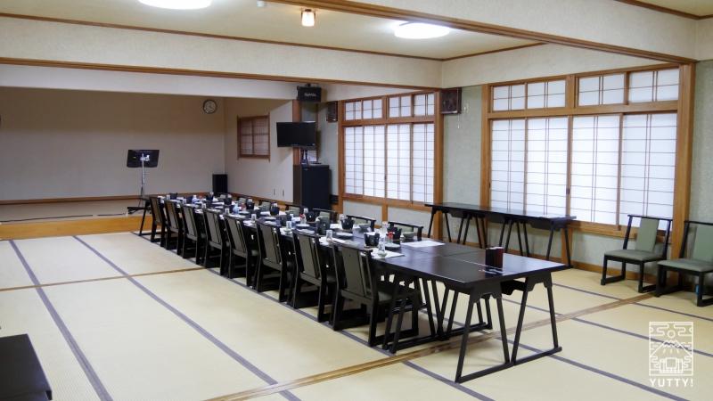 コンヤ温泉【大野木荘】の宴会室の写真