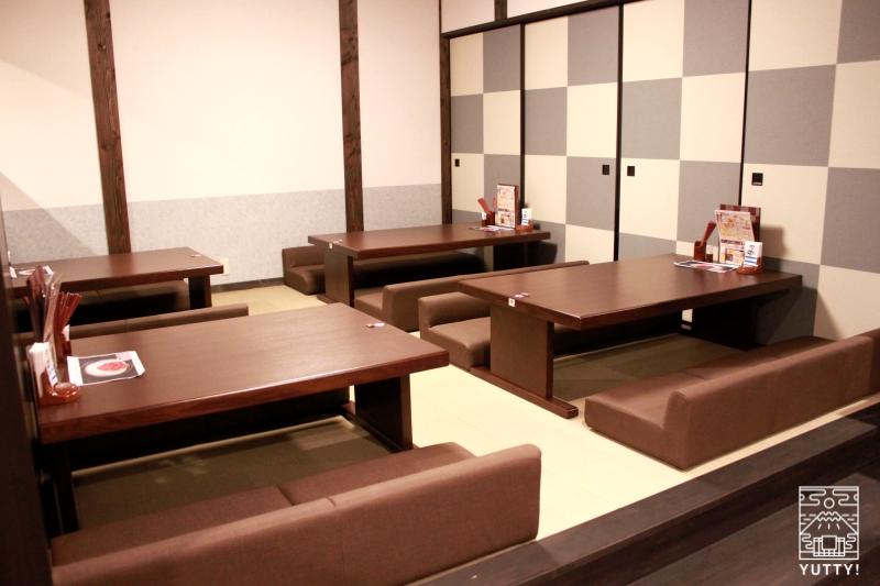レストラン「旬菜亭」の座敷席の写真