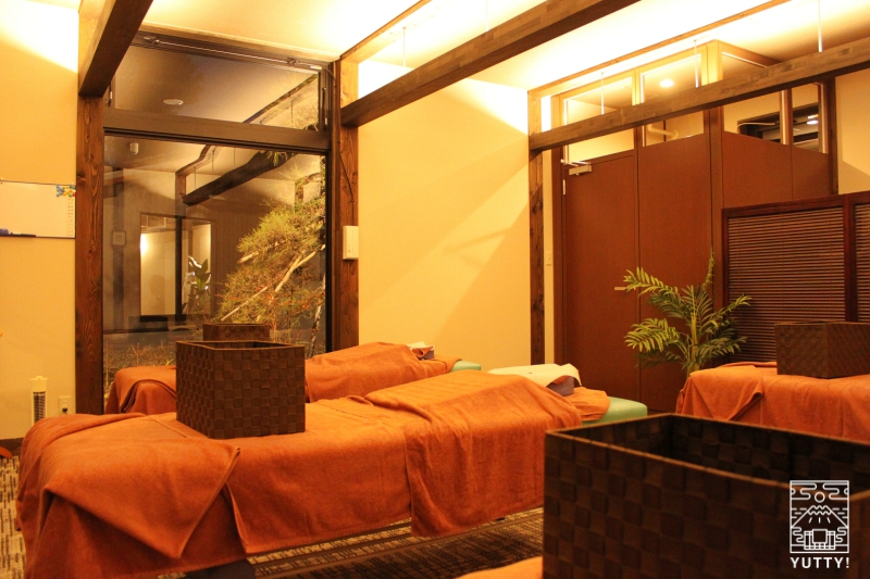【佐倉天然温泉 澄流】ほぐし処「和楽」の室内の写真