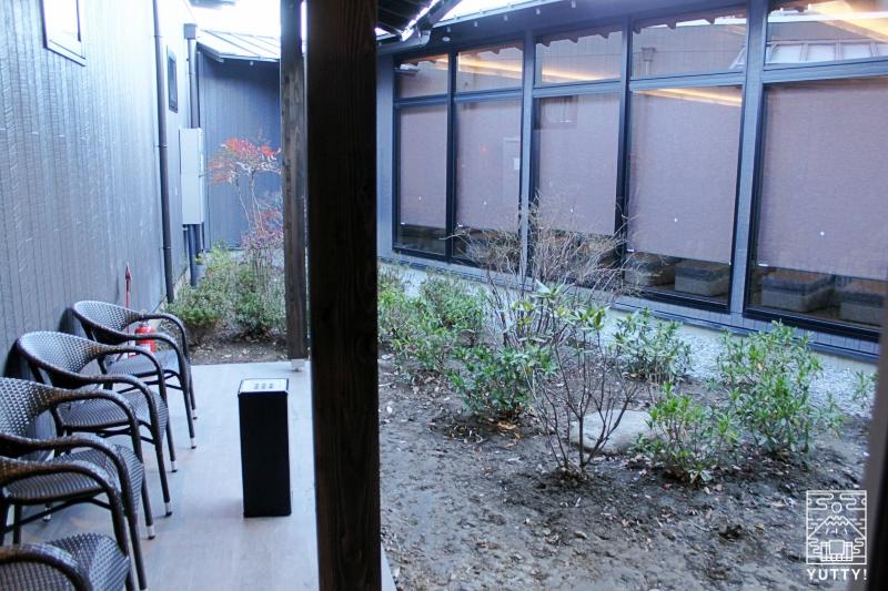【佐倉天然温泉 澄流】の喫煙所の写真