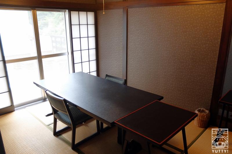 おもいでの宿 湯の島館 の食事専用の個室の写真