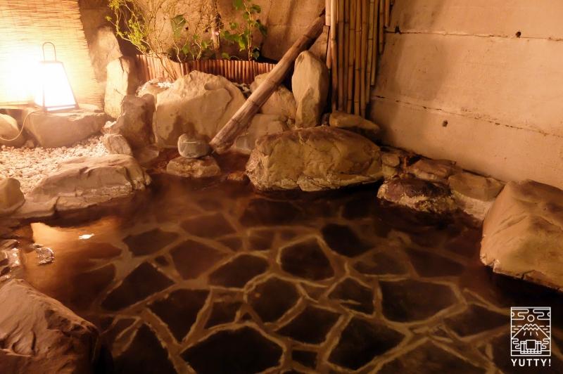 秘境温泉【油山苑】の露天風呂の写真