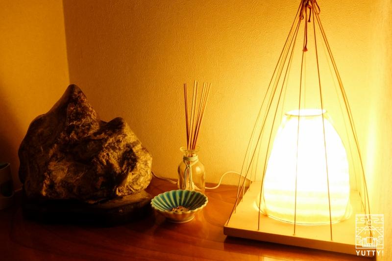 秘境温泉【油山苑】のお香の写真