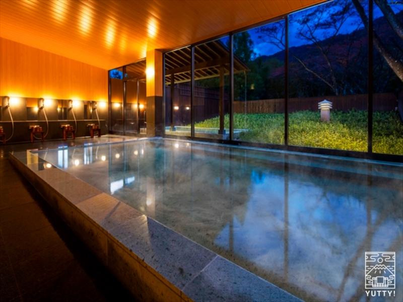 星野リゾート 界 鬼怒川 の 内風呂の写真