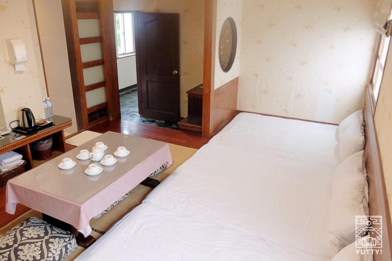 四重渓温泉 清泉日式温泉旅館のファミリー和室の写真