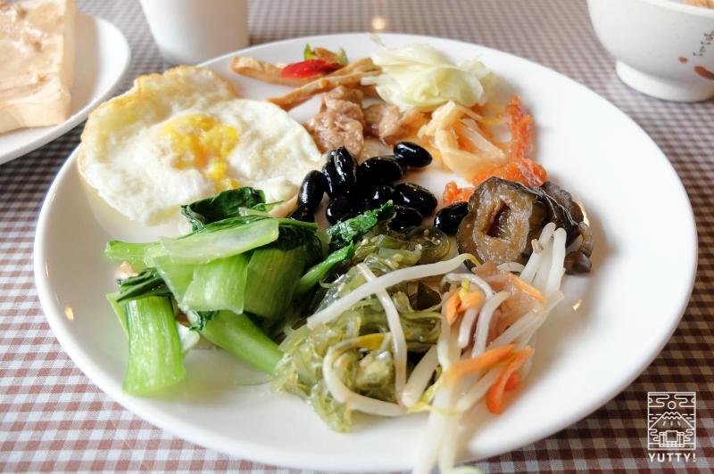 四重渓温泉 清泉日式温泉旅館の朝食バイキングの写真