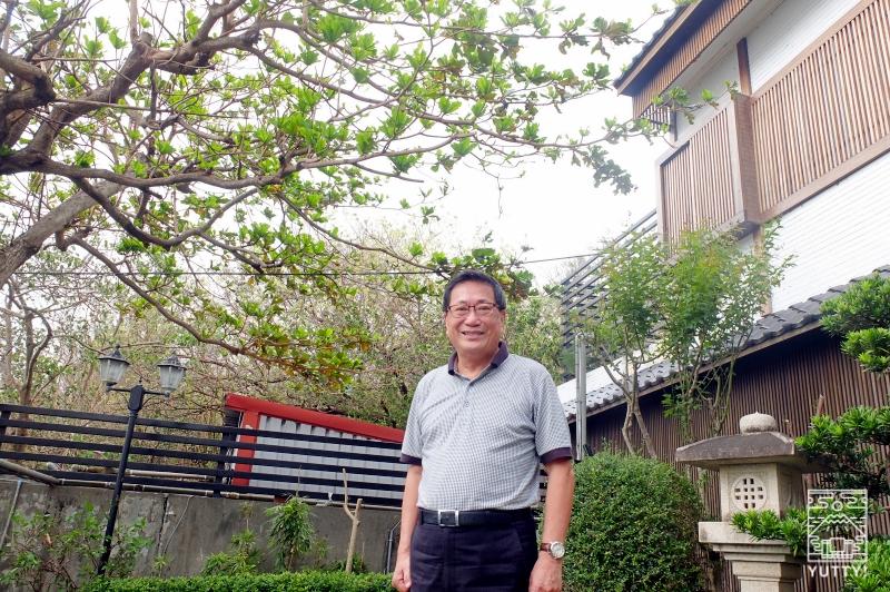 王樹嘉オーナー(南台湾観光大使・元屏東縣觀光協会理事長)の写真