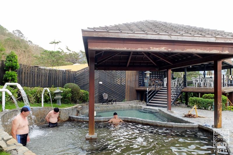 四重渓温泉 清泉日式温泉旅館の露天風呂の写真