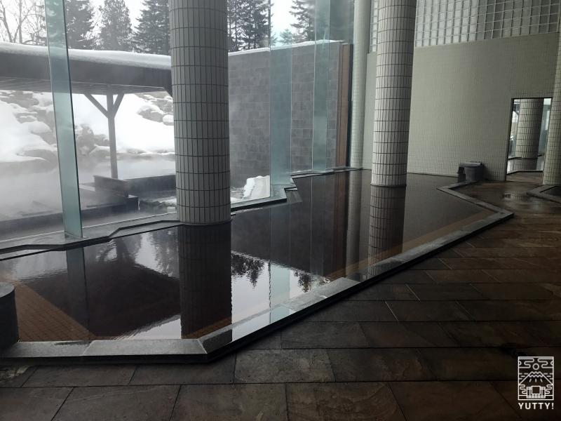 十勝川温泉第一ホテルの浴槽の写真