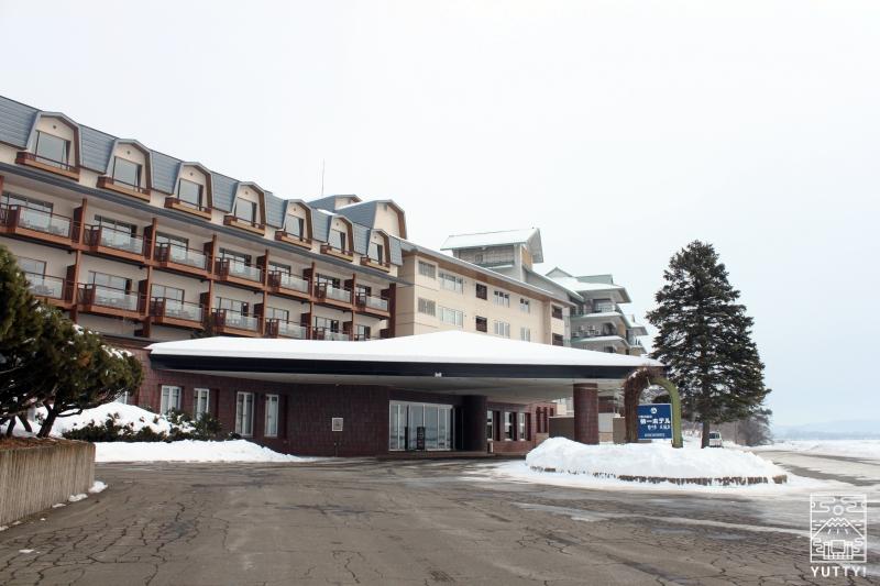 十勝川温泉第一ホテルの外観の写真